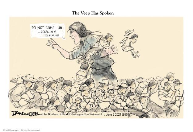 Jeff Danziger  Jeff Danziger's Editorial Cartoons 2021-06-09 American president