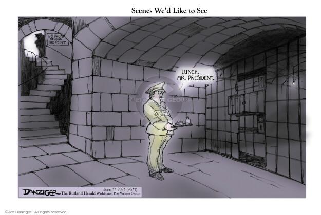Jeff Danziger  Jeff Danziger's Editorial Cartoons 2021-06-14 Donald