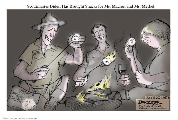 Jeff Danziger  Jeff Danziger's Editorial Cartoons 2021-06-16 American president