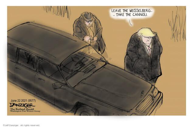 Jeff Danziger  Jeff Danziger's Editorial Cartoons 2021-06-22 Donald