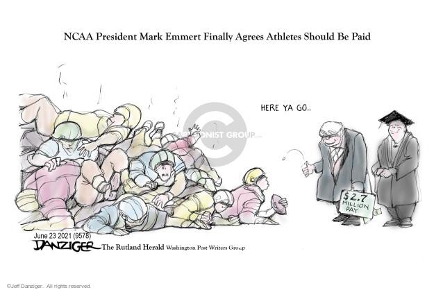 Jeff Danziger  Jeff Danziger's Editorial Cartoons 2021-06-23 here