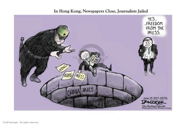 Jeff Danziger  Jeff Danziger's Editorial Cartoons 2021-06-24 news
