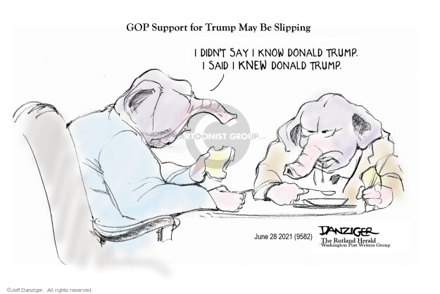 Jeff Danziger  Jeff Danziger's Editorial Cartoons 2021-06-28 republican