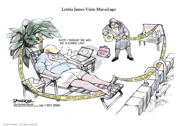 Jeff Danziger  Jeff Danziger's Editorial Cartoons 2021-07-01 Donald
