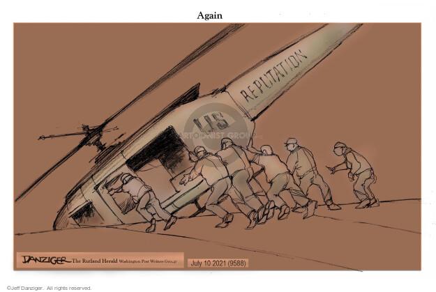 Jeff Danziger  Jeff Danziger's Editorial Cartoons 2021-07-09 violence