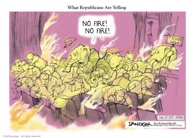 Jeff Danziger  Jeff Danziger's Editorial Cartoons 2021-07-21 republican