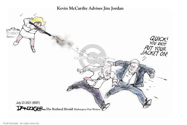 Jeff Danziger  Jeff Danziger's Editorial Cartoons 2021-07-22 republican