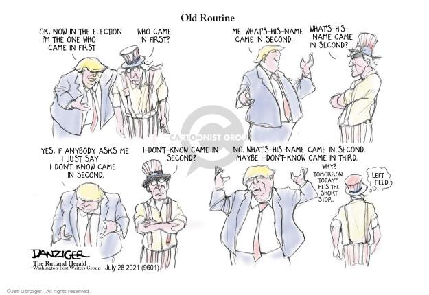 Jeff Danziger  Jeff Danziger's Editorial Cartoons 2021-07-28 just