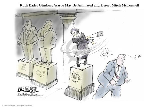 Jeff Danziger  Jeff Danziger's Editorial Cartoons 2021-08-02 justice