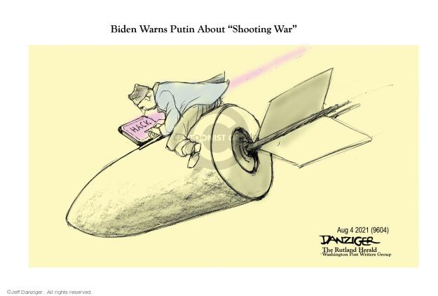 Jeff Danziger  Jeff Danziger's Editorial Cartoons 2021-08-03 American president