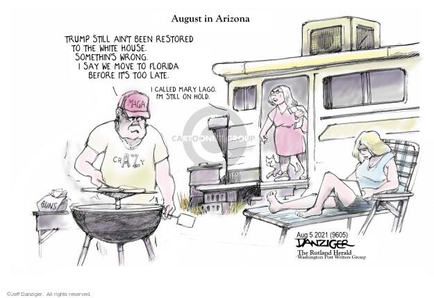 Jeff Danziger  Jeff Danziger's Editorial Cartoons 2021-08-04 Donald