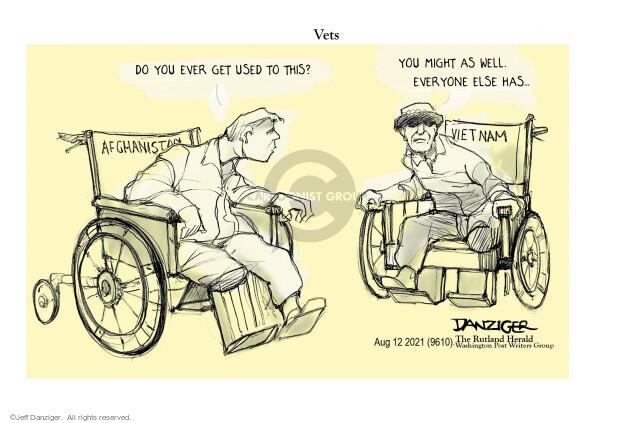 Jeff Danziger  Jeff Danziger's Editorial Cartoons 2021-08-12 soldier