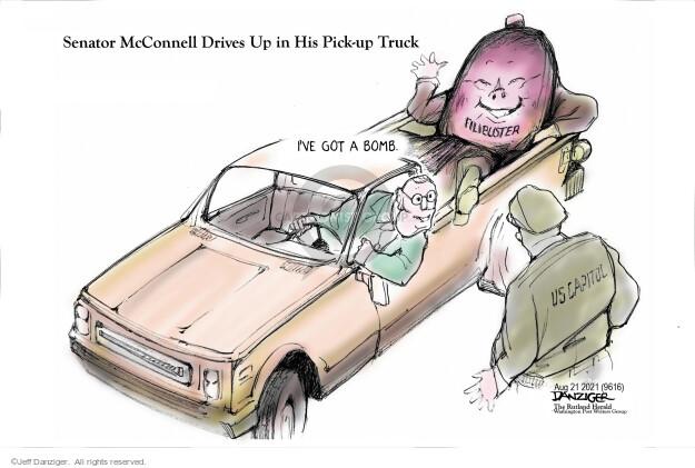 Jeff Danziger  Jeff Danziger's Editorial Cartoons 2021-08-21 republican
