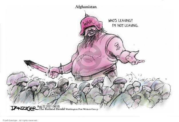 Jeff Danziger  Jeff Danziger's Editorial Cartoons 2021-08-22 immigration