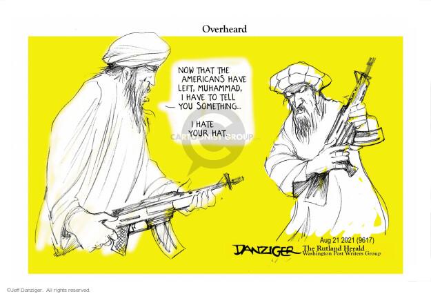 Jeff Danziger  Jeff Danziger's Editorial Cartoons 2021-08-23 soldier