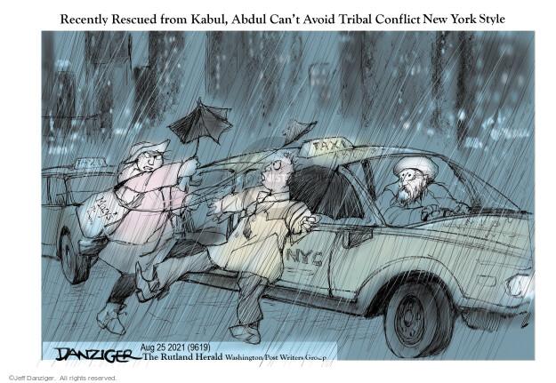 Jeff Danziger  Jeff Danziger's Editorial Cartoons 2021-08-26 immigration