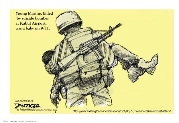 Jeff Danziger  Jeff Danziger's Editorial Cartoons 2021-08-28 soldier