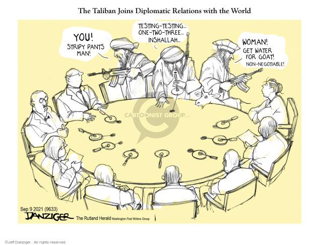 Jeff Danziger  Jeff Danziger's Editorial Cartoons 2021-09-09 one