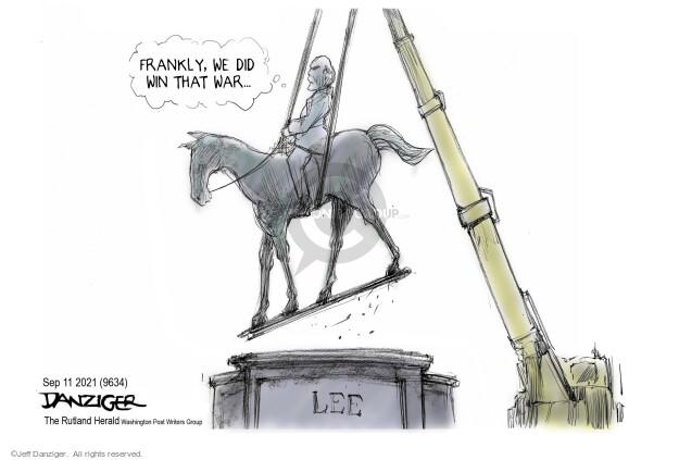 Jeff Danziger  Jeff Danziger's Editorial Cartoons 2021-09-10 editorial