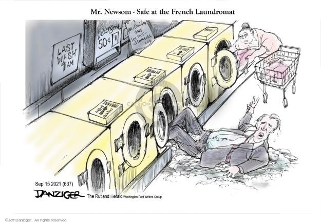 Jeff Danziger  Jeff Danziger's Editorial Cartoons 2021-09-15 election