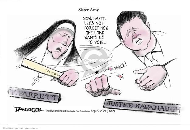 Jeff Danziger  Jeff Danziger's Editorial Cartoons 2021-09-22 justice