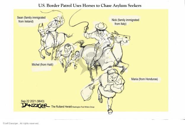 Jeff Danziger  Jeff Danziger's Editorial Cartoons 2021-09-23 family