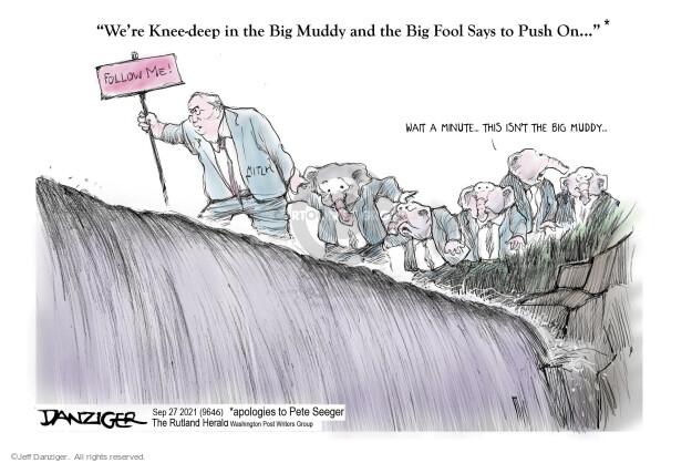 Jeff Danziger  Jeff Danziger's Editorial Cartoons 2021-09-27 republican