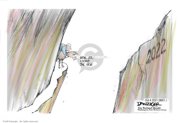Jeff Danziger  Jeff Danziger's Editorial Cartoons 2021-10-03 presidential leadership
