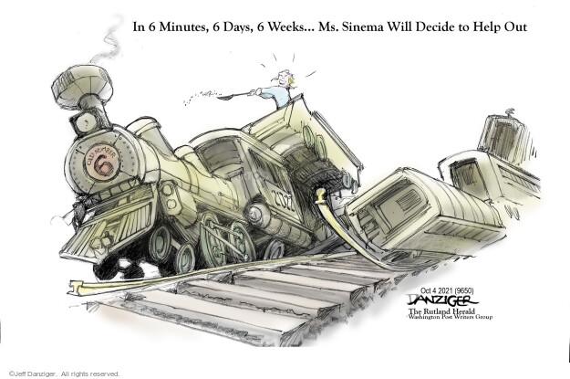 Jeff Danziger  Jeff Danziger's Editorial Cartoons 2021-10-04 infrastructure