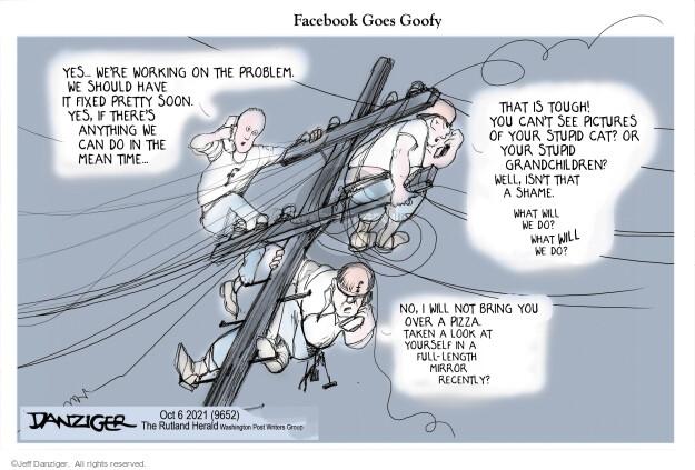 Jeff Danziger  Jeff Danziger's Editorial Cartoons 2021-10-05 media