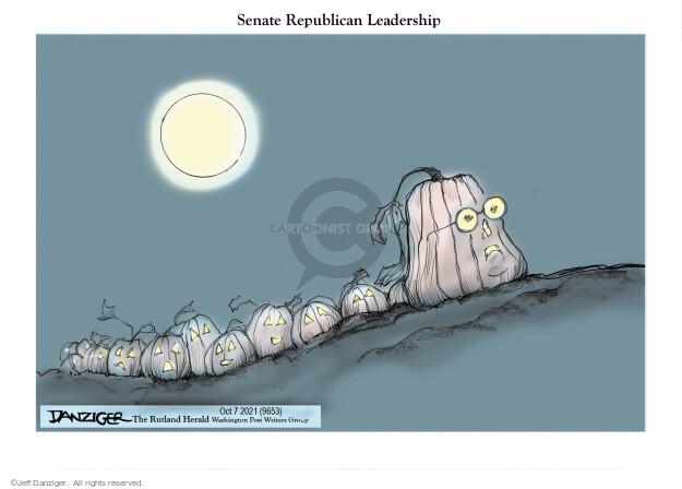 Jeff Danziger  Jeff Danziger's Editorial Cartoons 2021-10-08 republican