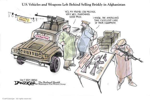 Jeff Danziger  Jeff Danziger's Editorial Cartoons 2021-10-09 car