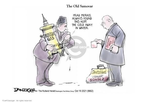 Jeff Danziger  Jeff Danziger's Editorial Cartoons 2021-10-20 president