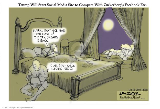 Jeff Danziger  Jeff Danziger's Editorial Cartoons 2021-10-26 media
