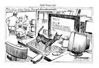 Cartoonist Jeff Danziger  Jeff Danziger's Editorial Cartoons 2010-05-07 NYSE