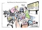 Cartoonist Jeff Danziger  Jeff Danziger's Editorial Cartoons 2010-07-12 hot dog