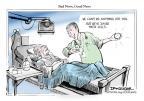 Cartoonist Jeff Danziger  Jeff Danziger's Editorial Cartoons 2010-08-24 science