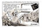Cartoonist Jeff Danziger  Jeff Danziger's Editorial Cartoons 2010-10-08 accent