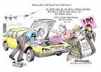 Cartoonist Jeff Danziger  Jeff Danziger's Editorial Cartoons 2010-11-18 new car