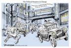 Cartoonist Jeff Danziger  Jeff Danziger's Editorial Cartoons 2011-01-25 Chicago
