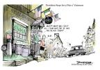 Cartoonist Jeff Danziger  Jeff Danziger's Editorial Cartoons 2011-05-23 beverage