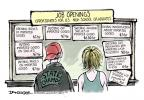 Cartoonist Jeff Danziger  Jeff Danziger's Editorial Cartoons 2011-06-25 bag