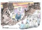 Cartoonist Jeff Danziger  Jeff Danziger's Editorial Cartoons 2011-10-09 bribe