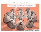 Cartoonist Jeff Danziger  Jeff Danziger's Editorial Cartoons 2012-03-13 time off