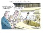 Cartoonist Jeff Danziger  Jeff Danziger's Editorial Cartoons 2013-01-01 2012 election