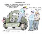 Cartoonist Jeff Danziger  Jeff Danziger's Editorial Cartoons 2013-07-15 mind