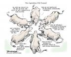 Cartoonist Jeff Danziger  Jeff Danziger's Editorial Cartoons 2013-07-22 livestock