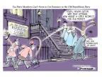 Cartoonist Jeff Danziger  Jeff Danziger's Editorial Cartoons 2013-10-28 attitude