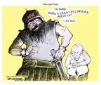 Cartoonist Jeff Danziger  Jeff Danziger's Editorial Cartoons 2014-03-04 insanity