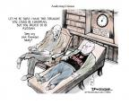 Cartoonist Jeff Danziger  Jeff Danziger's Editorial Cartoons 2014-03-09 seen